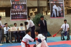 Ahmedabad Dist. Inter School Karate Championship Won 4 Gold, 3 Silver and 8 Bronze Medals