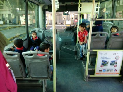 Visit to Bus Depo